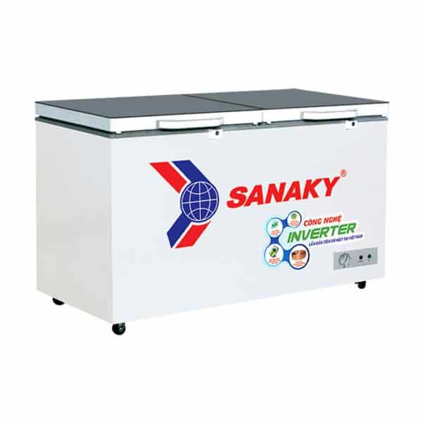 TỦ ĐÔNG INVERTER SANAKY 305 LÍT VH-4099A4K ĐỒNG (R600A)
