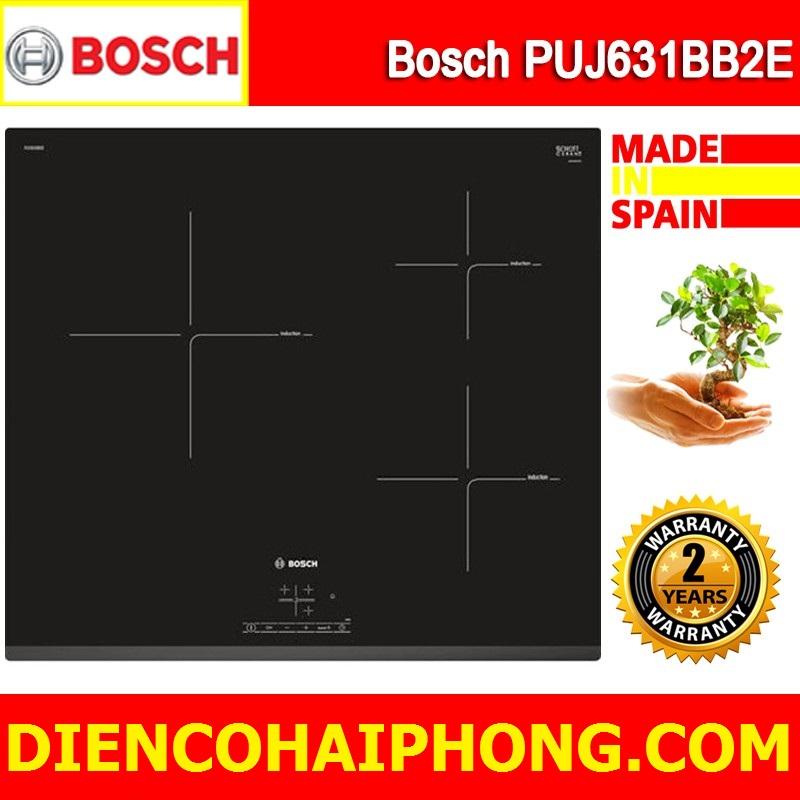 Bếp Từ Bosch PUJ631BB2E Đức ( tặng bộ nồi tặng aptomat )