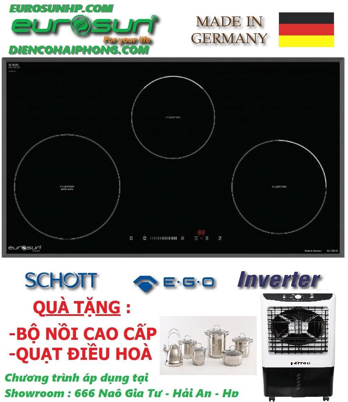 Bếp từ Eurosun EU-T881G ( Quà tặng khủng trừ ngay thêm 3triệu)