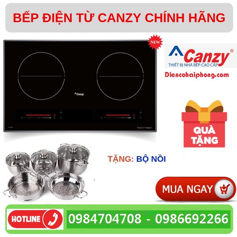 Bếp từ canzy CZ-06I tặng bộ nồi