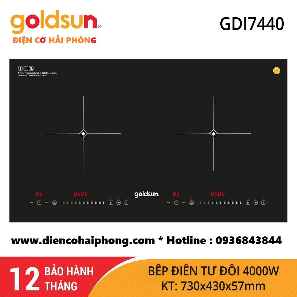 Bếp Điện Từ Đôi Goldsun GDI7440