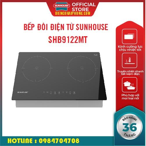 Bếp Đôi Điện Từ Hồng Ngoại Sunhouse SHB8609