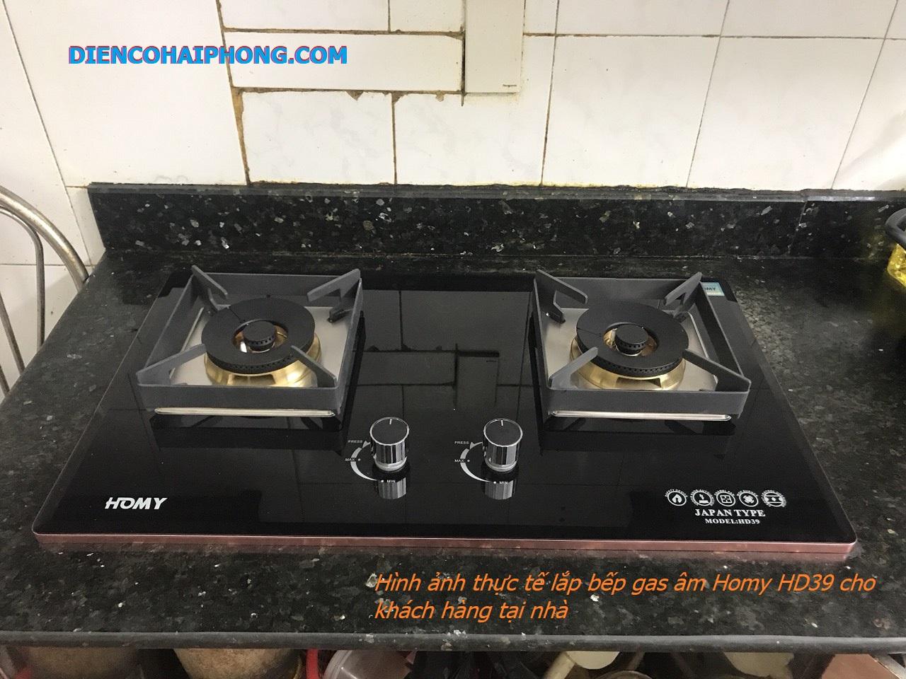 Bếp ga âm Homy HD-039