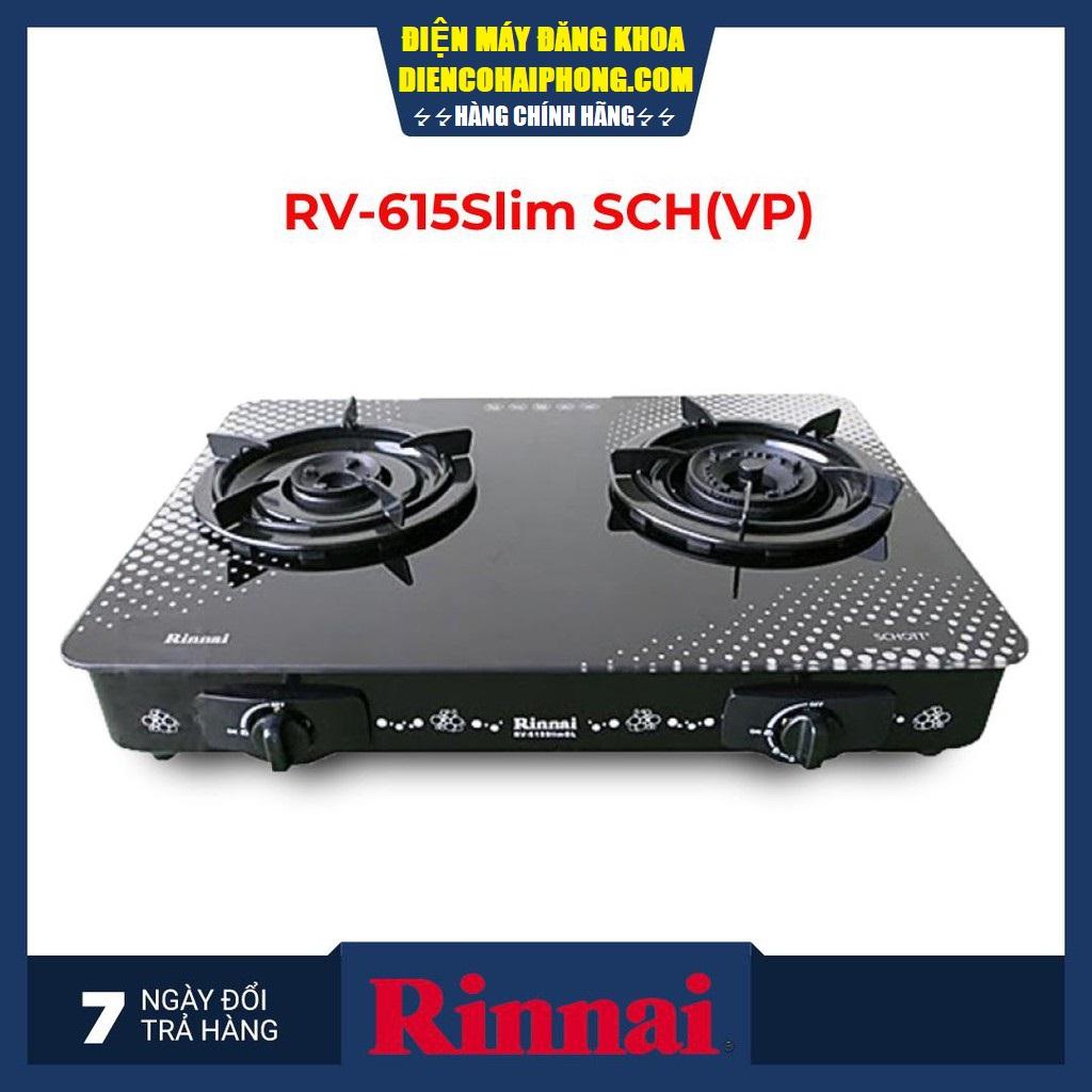 BẾP GAS RINNAI RV-615SLIM-SCH(VP)