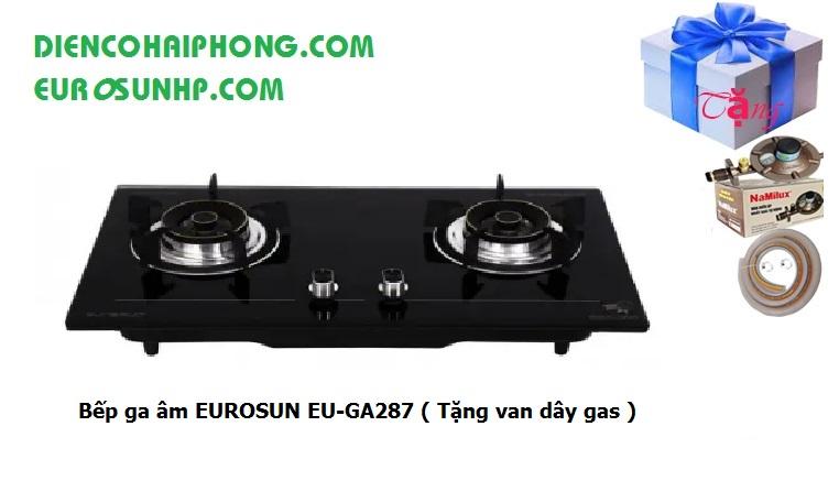Bếp ga âm EUROSUN EU-GA287 ( Tặng van dây gas )
