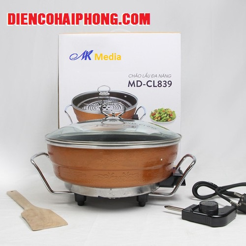 Chảo Lẩu Đa Năng Media MD-CL839