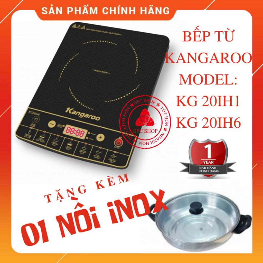 Bếp từ Kangaroo KG365I/KG20IH1/KG20IH6 (Tặng nồi lẩu)