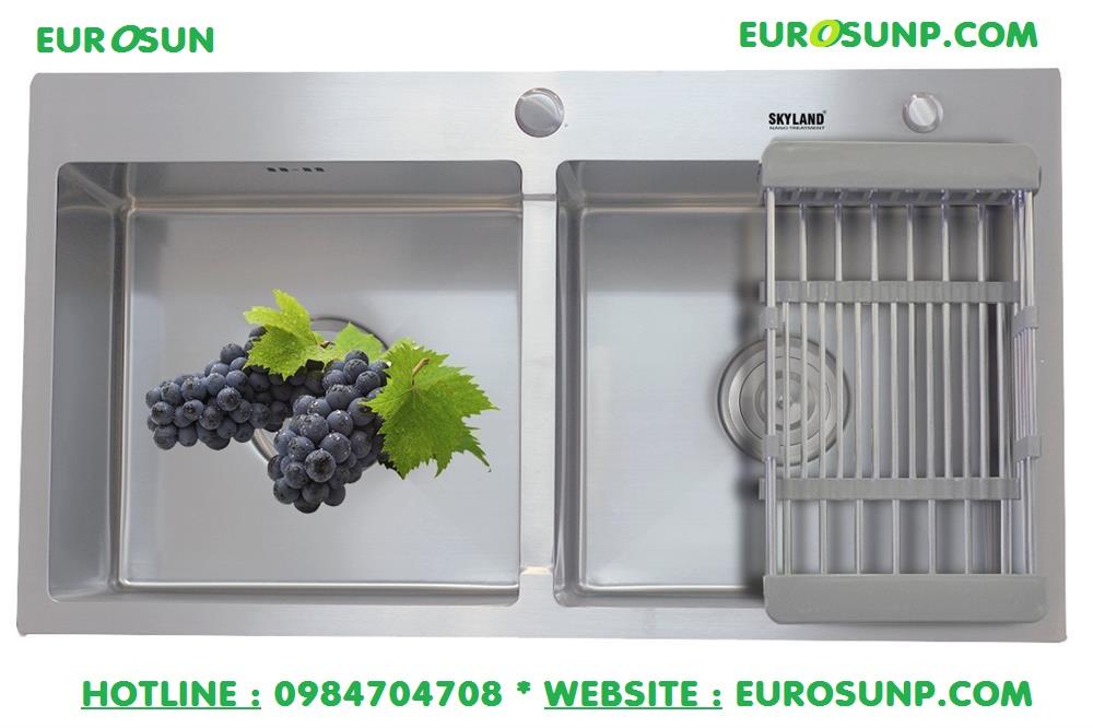 Chậu rửa chén bát Eurosun Handmade Skyland EU-8245C
