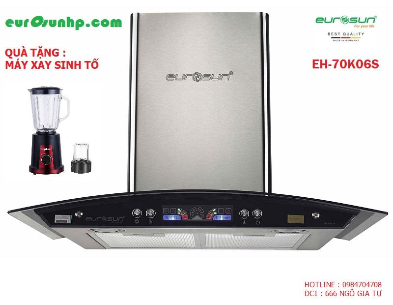 Máy Hút Mùi Eurosun EH-70K06 ( Tặng máy xay sinh tố )