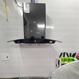 MÁY HÚT MÙI kính cong cảm ứng BAUER BC-70SBL ( New ) Tặng ống giảm ồn ,công lắp