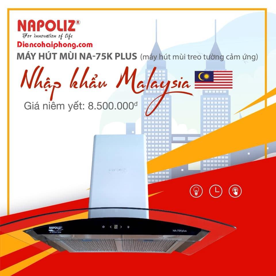 MÁY HÚT MÙI NAPOLIZ NA-75K PLUS ( Malaysia )