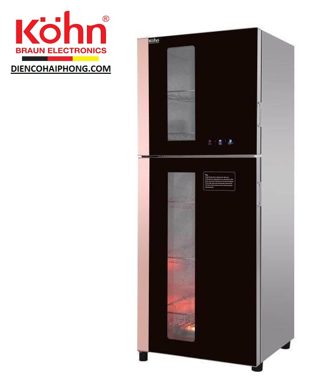 Tủ sấy khử trùng bát đĩa Braun KOHN KS138