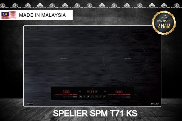 BẾP TỪ SPELIER SPM-T71KS