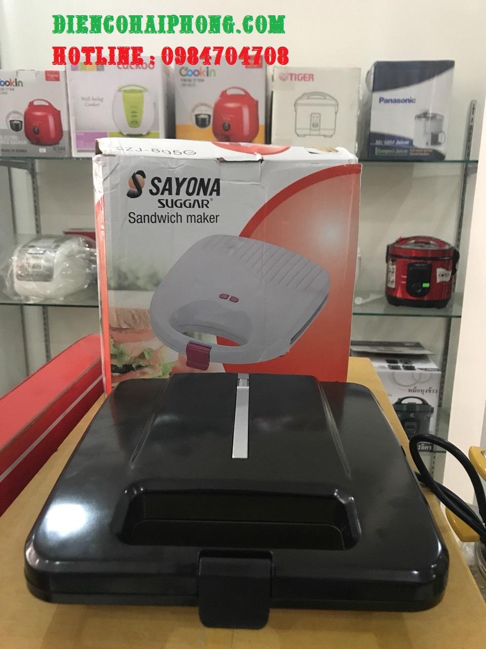 Máy nướng bánh Sayona szj-805g