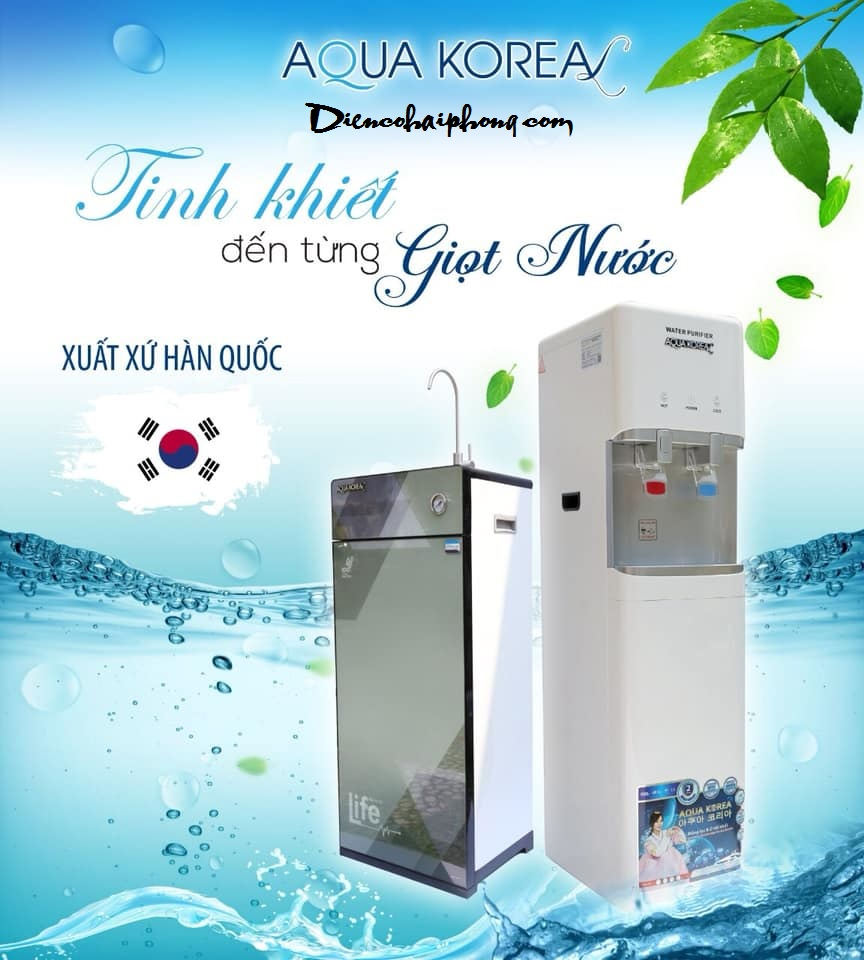 8 ưu điểm nổi trội của máy lọc nước AQUAKOREA VÀ AQUAJAPAN