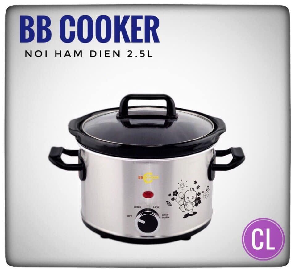 Nồi nấu chậm Hàn Quốc BBCooker 2.5L