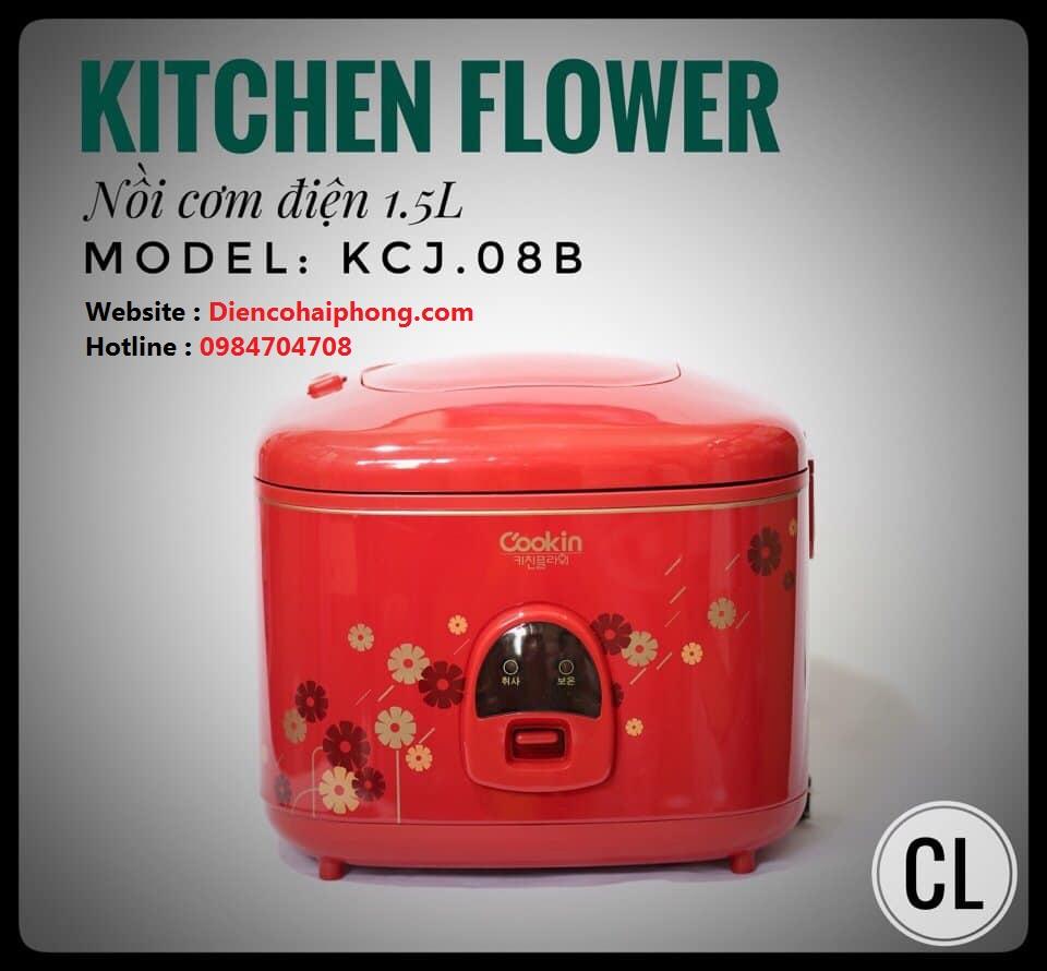 Nồi cơm điện Cookin 1.5L (KCJ.08B) Hàn Quốc