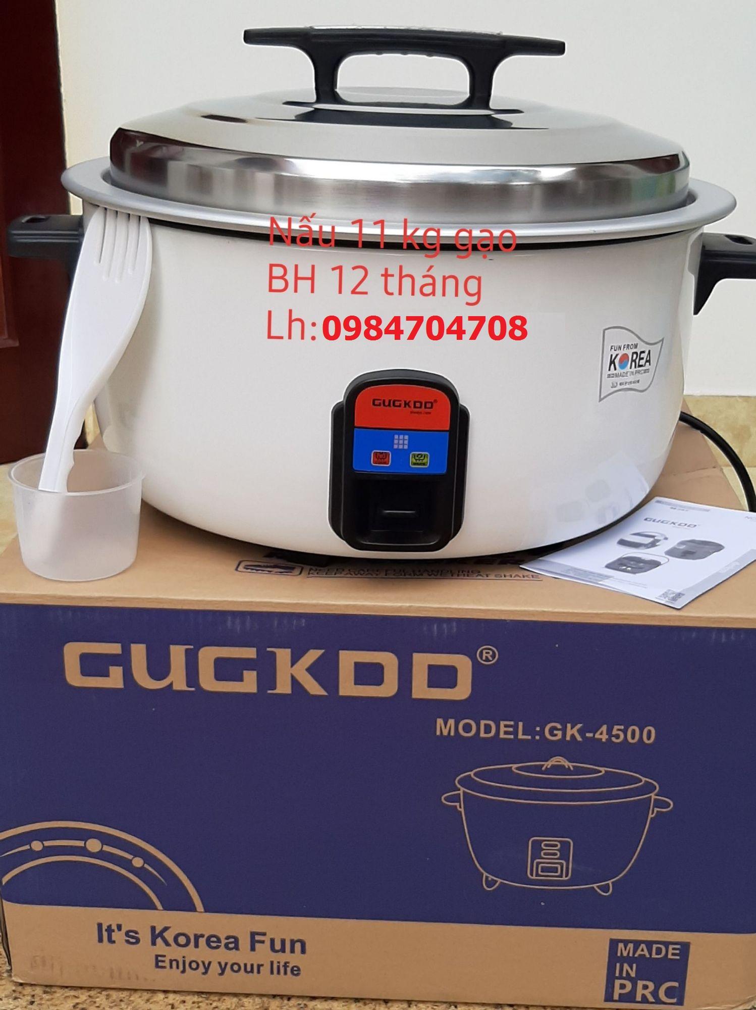 Nồi cơm điện công nghiệp CUCKOO 40L Hàn Quốc 4500w, nấu 11kg gạo