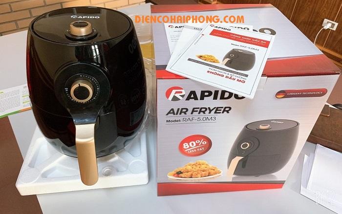 Nồi chiên không dầu 5L Rapido RAF5.0M3
