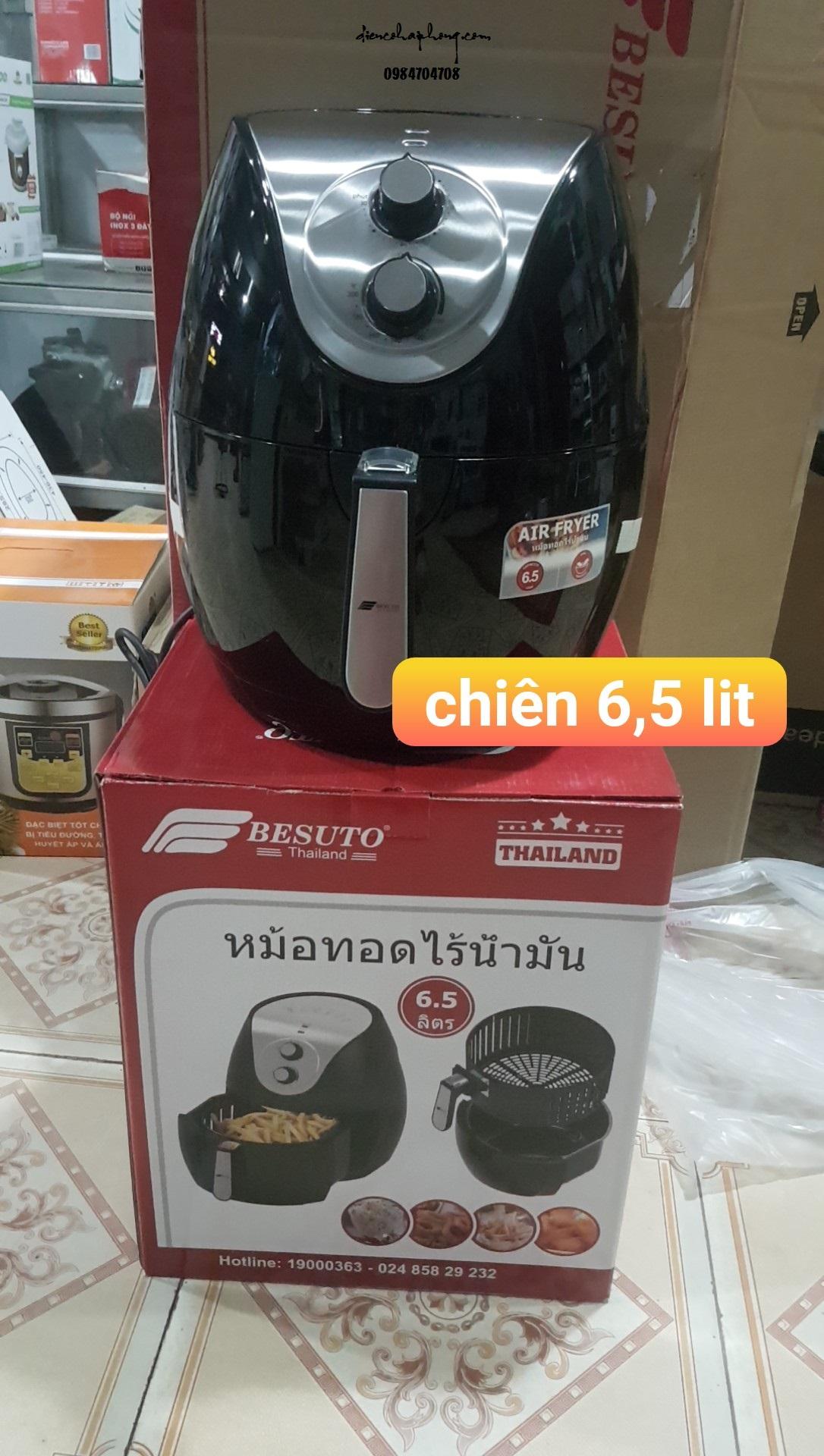 Nồi chiên không dầu Besuto 6.5l Thái Lan