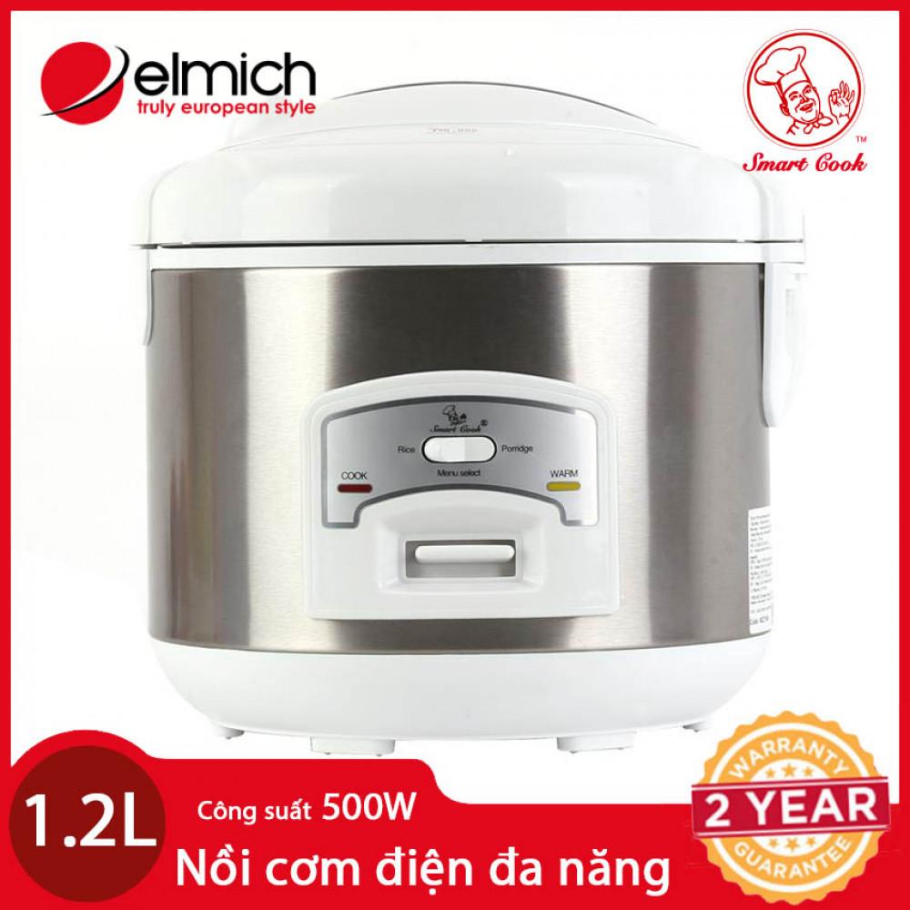Nồi Cơm Điện , nấu cháo Elmich EL7166 1.2L