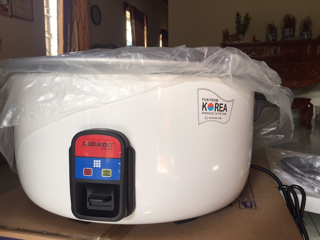 Nồi cơm điện công nghiệp CUCKOO 25lit 3000w nấu 5 - 7kg gạo