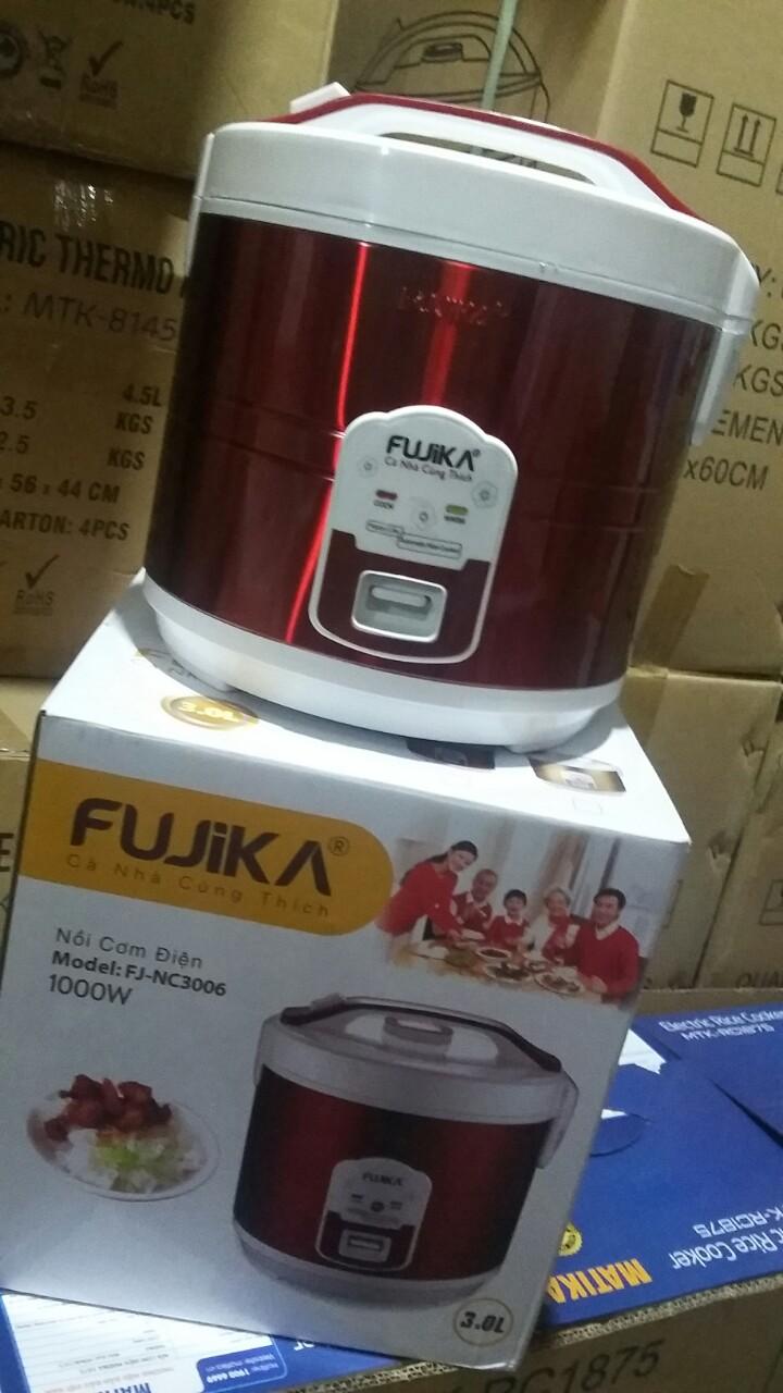 NỒI CƠM ĐIỆN 3L FUJIKA FJ-NC3006 ( phù hợp 7~10 người ăn)