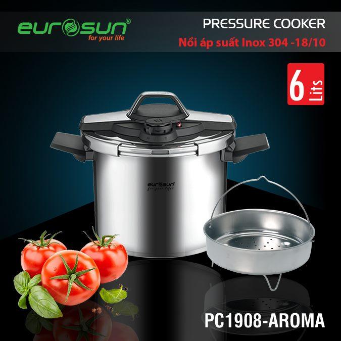 Nồi áp suất Eurosun PC1908 Aroma