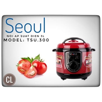 Nồi Ấp suất SEOUL TSU300 3L
