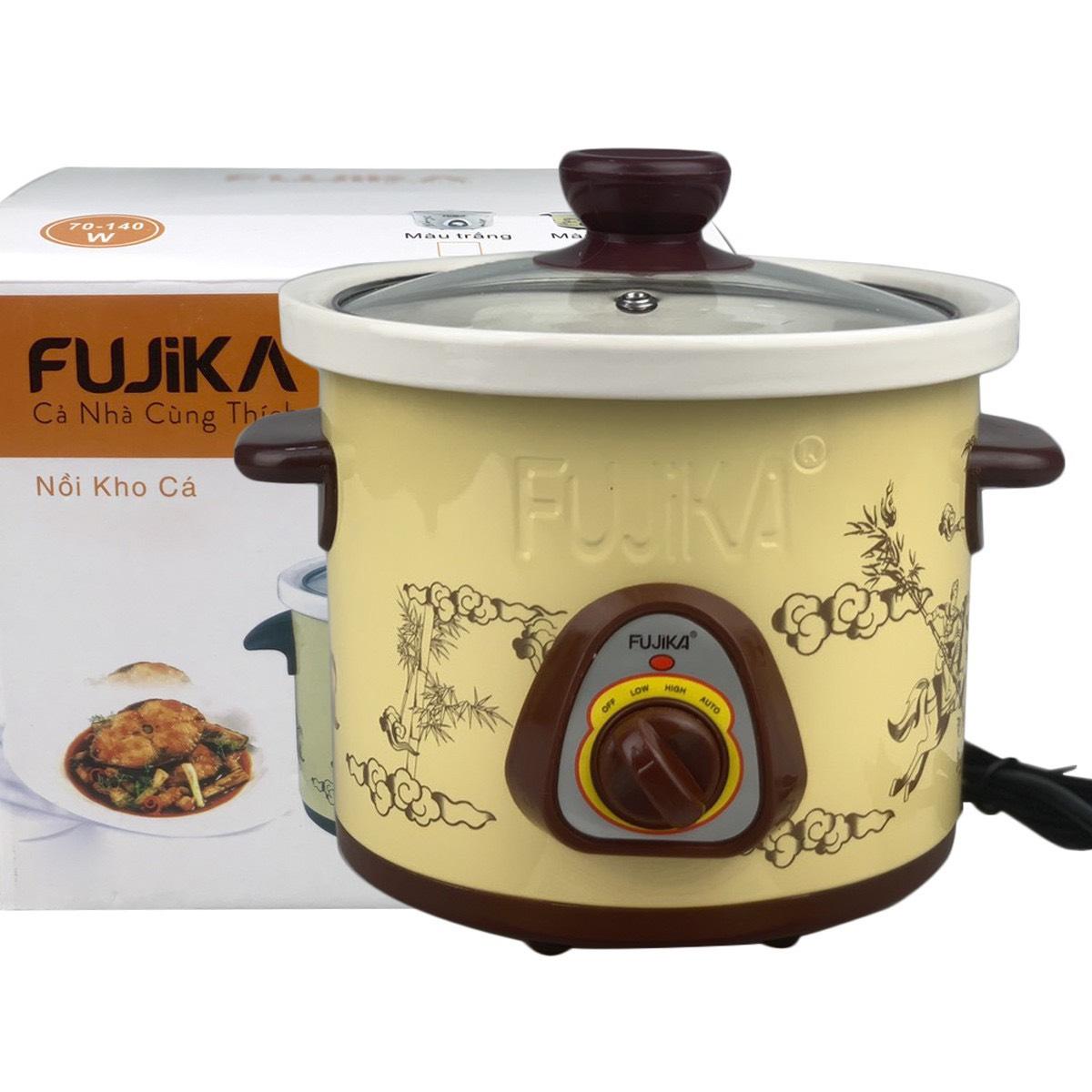 Nồi nấu chậm, nồi kho cá nấu cháo Fujika 2.5L