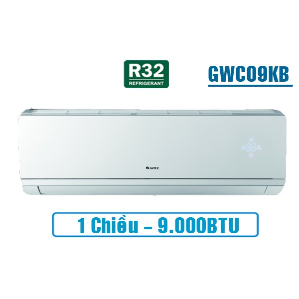 Điều Hòa Gree 1 Chiều 9000Btu GWC09KB-K6N0C4 Gas R32