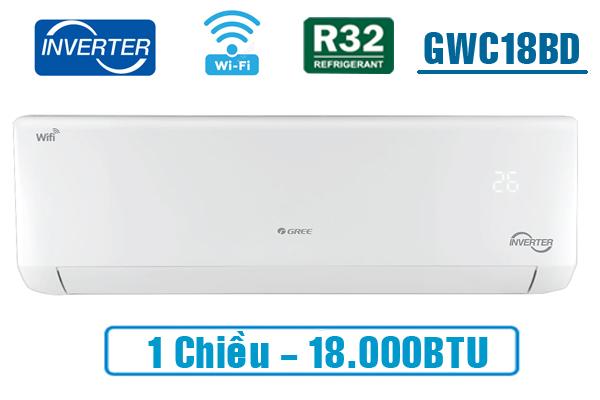 Điều hòa Gree Inverter 18000 BTU GWC18PC-K3D0P4
