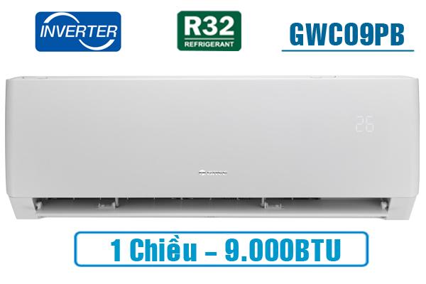 Điều hòa Gree 1 chiều Inverter 9042 BTU GWC09PB-K3D0P4