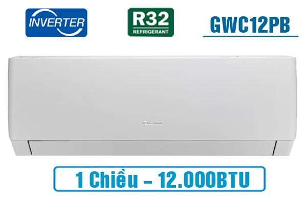 Điều hòa Gree Inverter 12000 BTU GWC12PB-K3D0P4