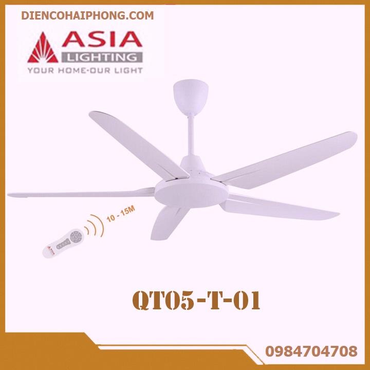 Quạt trần 5 cánh cao cấp ASIA QT05-T01