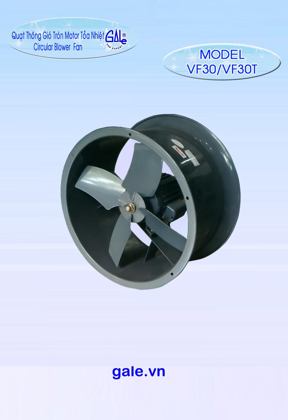 Quạt hút công nghiệp tròn VF30