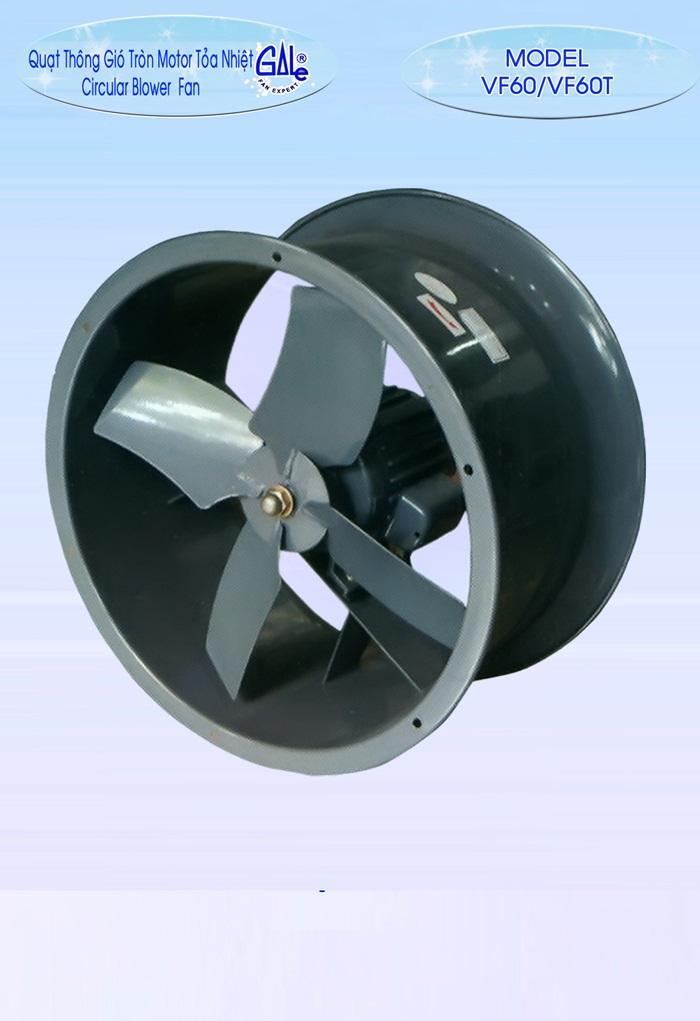 Quạt hút công nghiệp tròn VF60