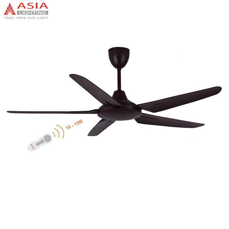 Quạt trần AC Asia QT05-N-01 ( Nâu cà phê )