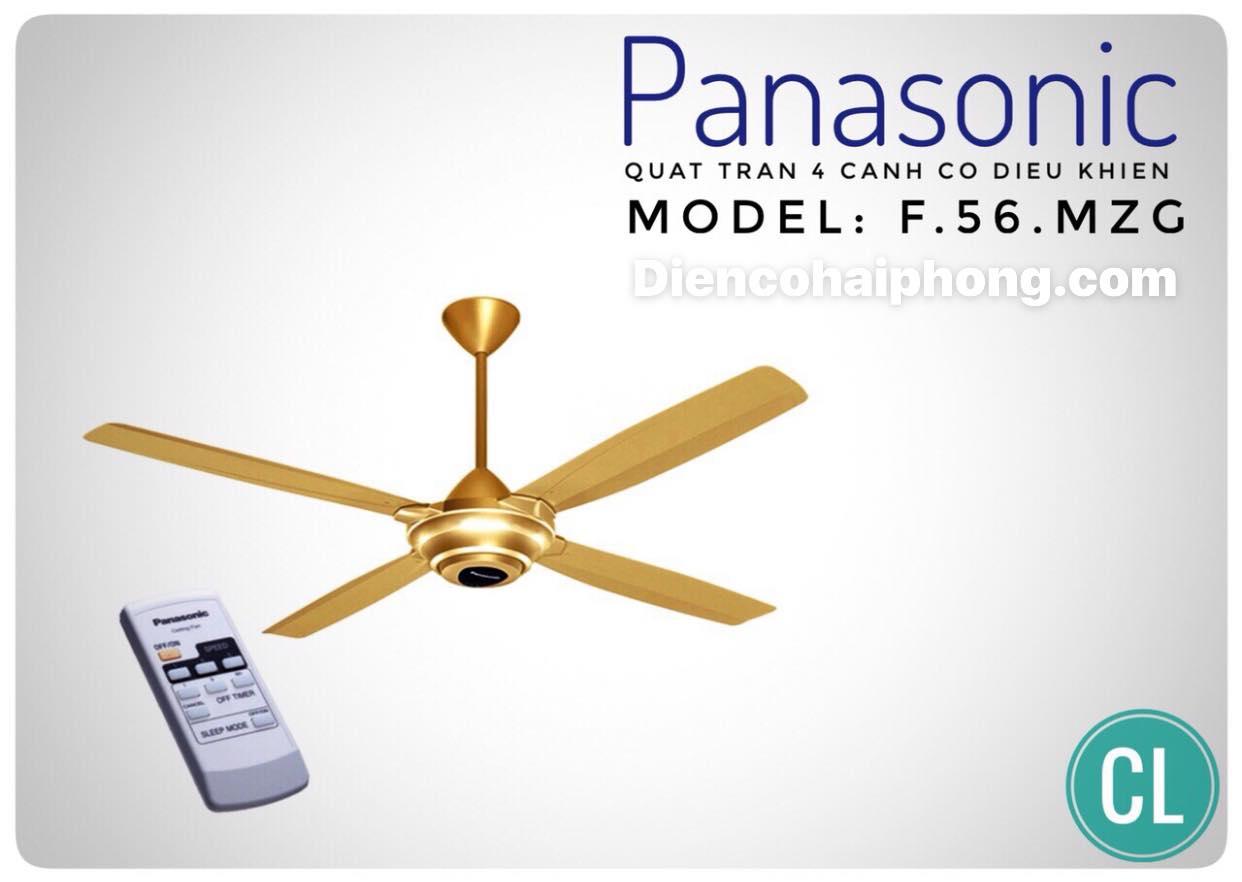 QUẠT TRẦN PANASONIC F-56MZG-GO