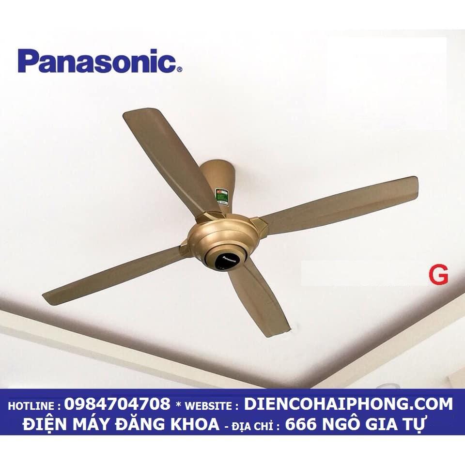 QUẠT TRẦN PANASONIC F-56MPG-GO ( màu vàng )