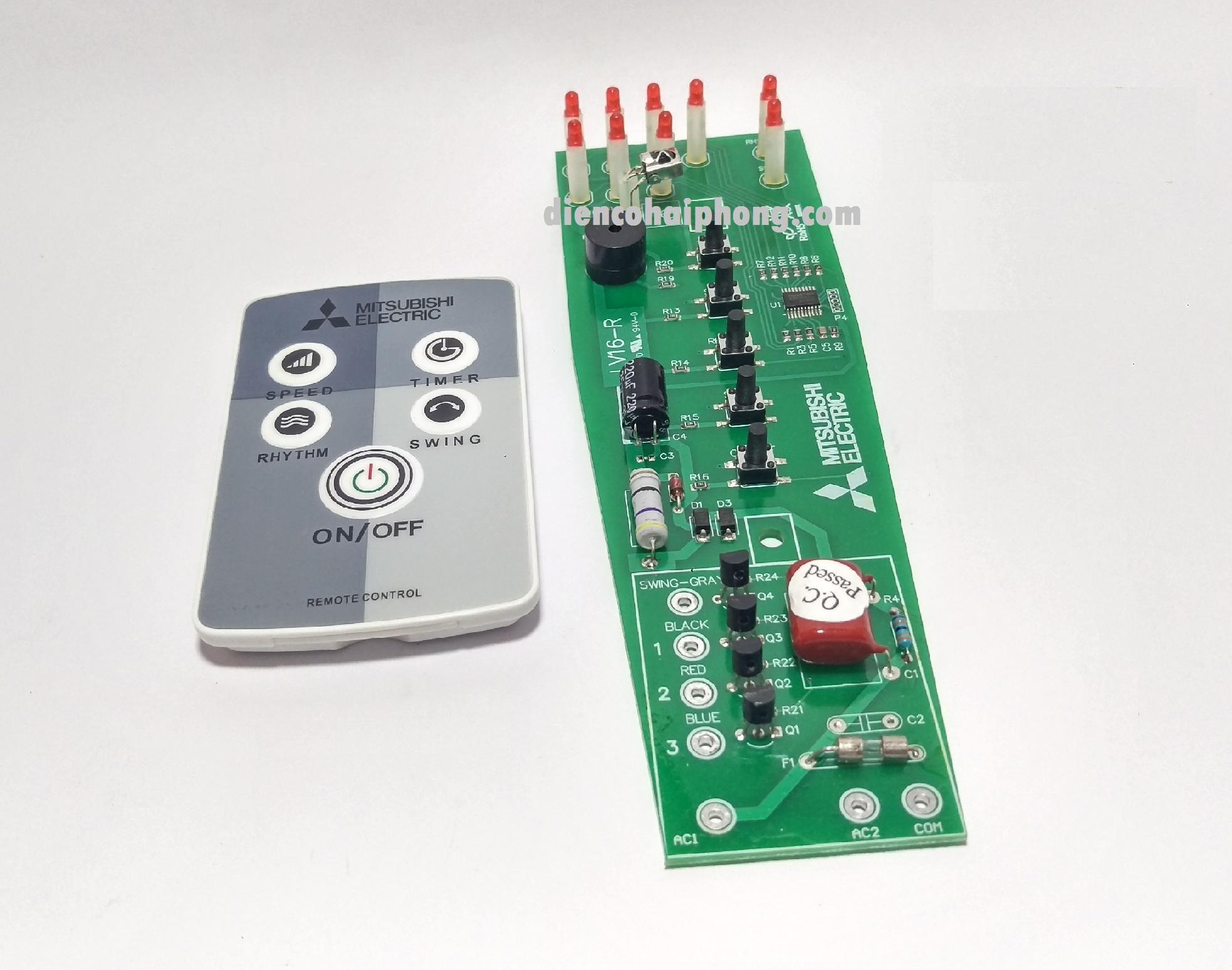 Bộ điều khiển và mạch Quạt Cây Mitsubishi