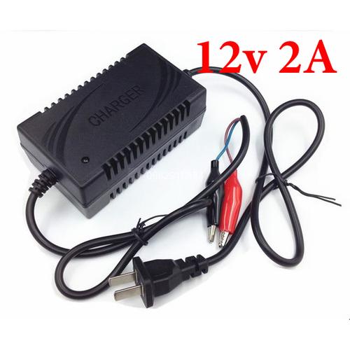 Bộ sạc bình ắc quy 12V ( màu đen )