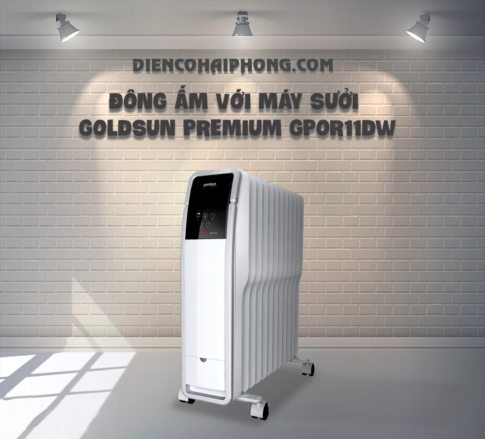 Máy Sưởi Dầu Goldsun Premium GPOR11DW ( Hết Hàng )